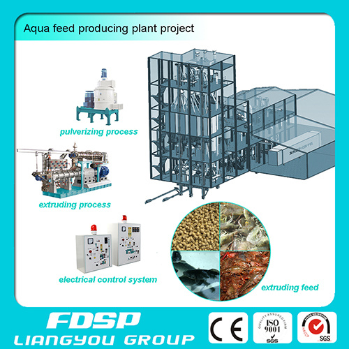Fish Feed Shrimp Feed Producing Plant
