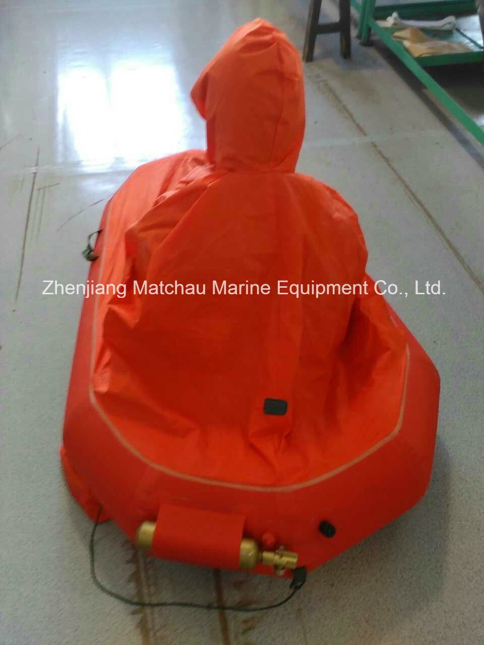 Single Person Life Raft for Rescue Helicopter