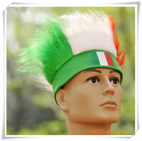 Italian Flag Wig for Promotion (PF14001)