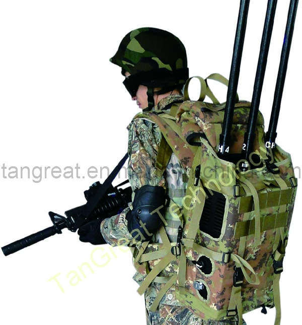 Three Bands Military Bomb Jammer (TG-VIP Manpack)