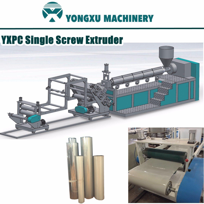 Yxpc 750mm Width Single Screw One Layer Plastic Sheet Extruder Machine, Plastic Sheet Extruding Machine, Plastic Sheet Extruder in Roll, Sheet Extruding Machine