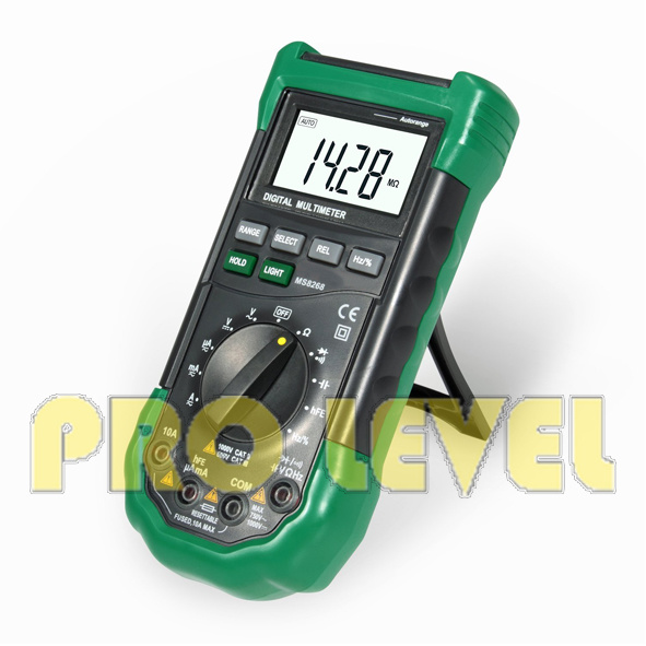 Professional Digital Multimeter with Temperature (MS8268)