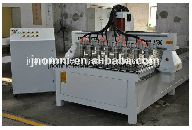 CNC Multi Spindle Router Machine for Mass Production