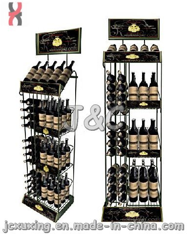 Shelf Wine Display Rack/Metal Display Stand (W series)
