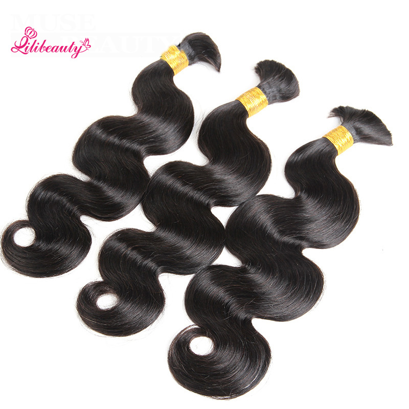 Malaysian Factory Wholesale Hair Body Wave Braids in Bundle with Human Hair
