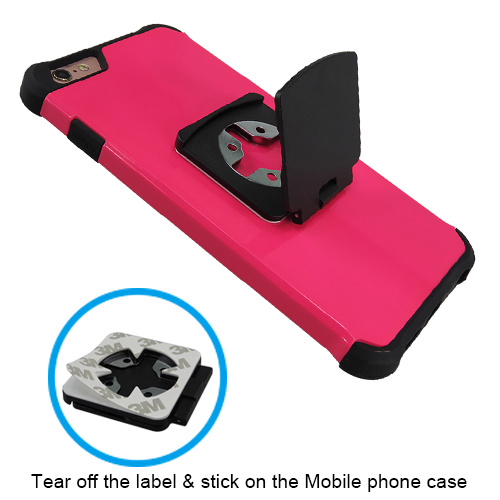 Universal Phone Stand Label Cross Fast Lock Holder with Mobile Phone Holder