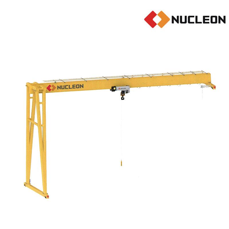 Ce Certified Outdoor Used Single Girder Gantry Crane 16 Ton
