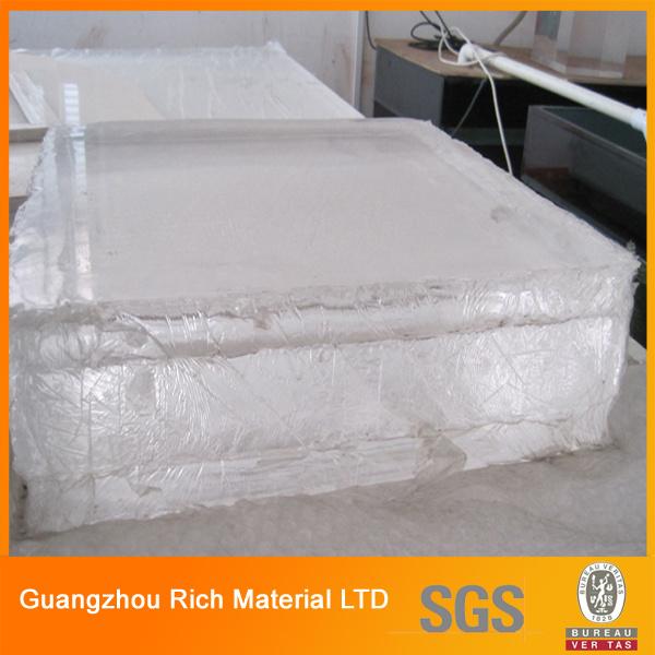 High Transparency Thick Acrylic Plastic Sheet Plexiglass