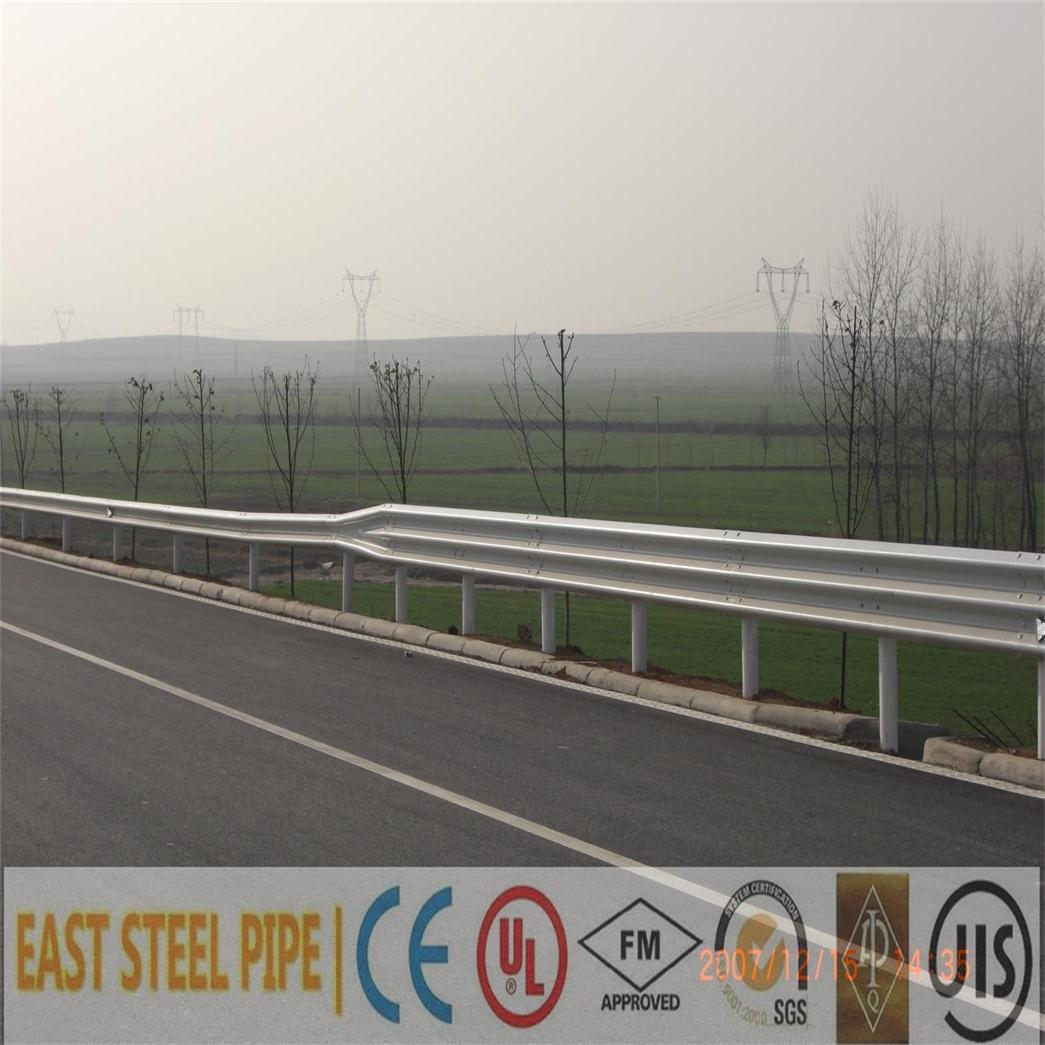 Aashto M180 Ce Certificate Galvanized Coated W Beam Highway Guardrail Contractor