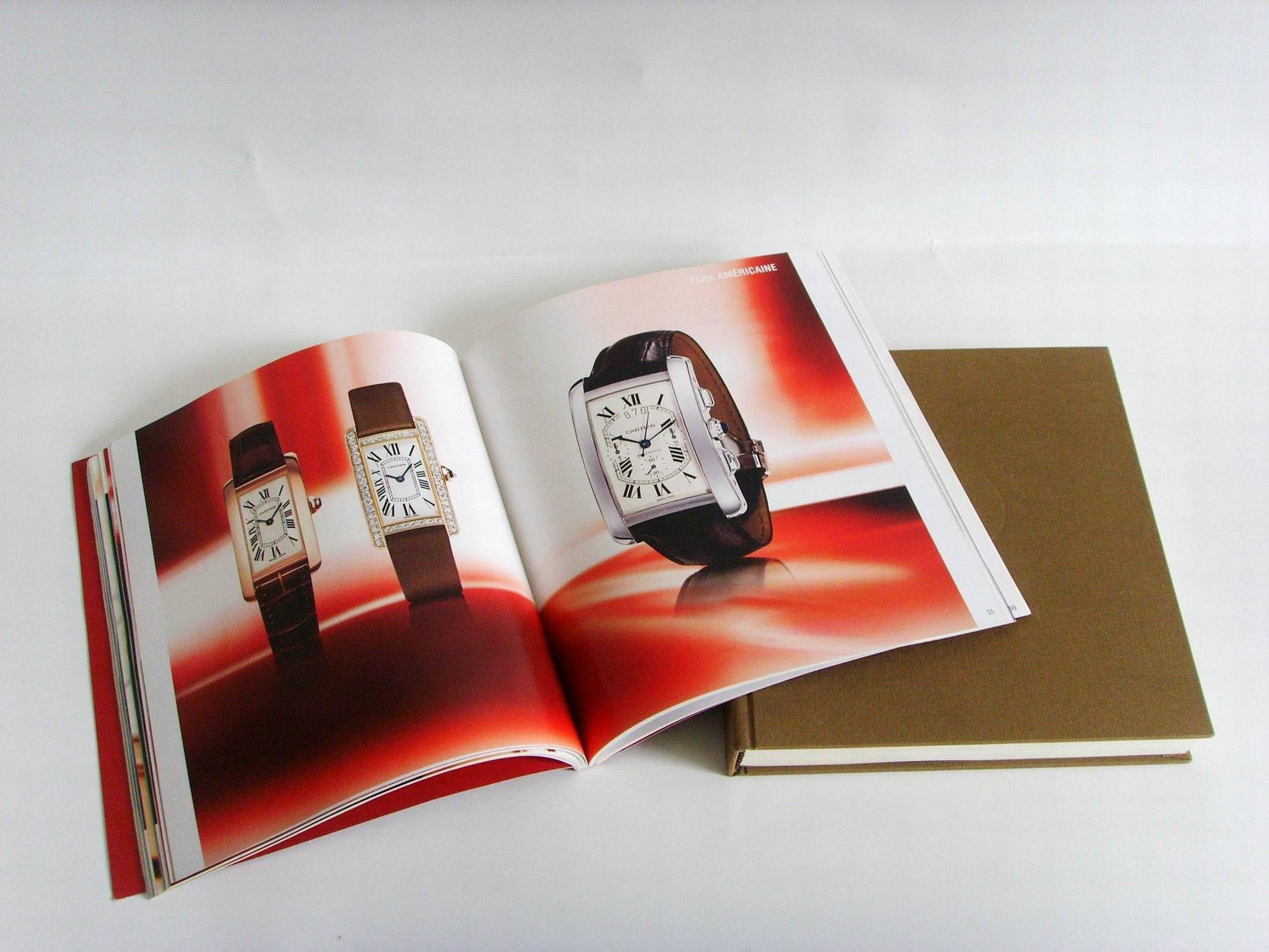 Paper Hard Cover Photo Magazine Printing Book Printing