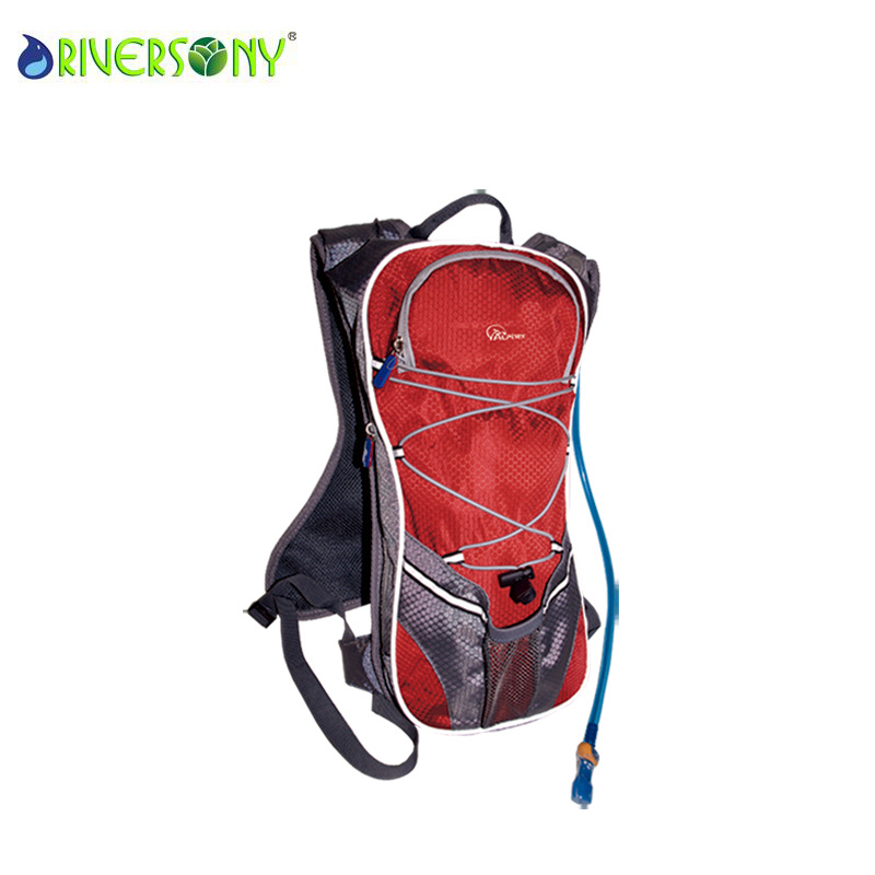 Red Bicycle Bike Bag Backpack