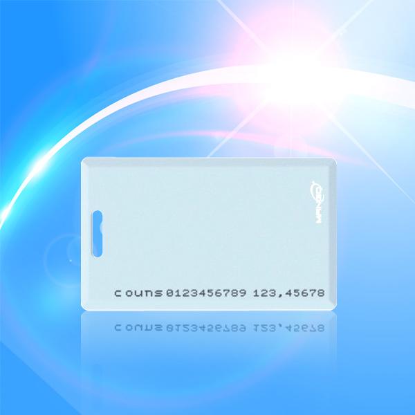 Plastic RFID PVC Blank Card of 125kHz, Smart Card