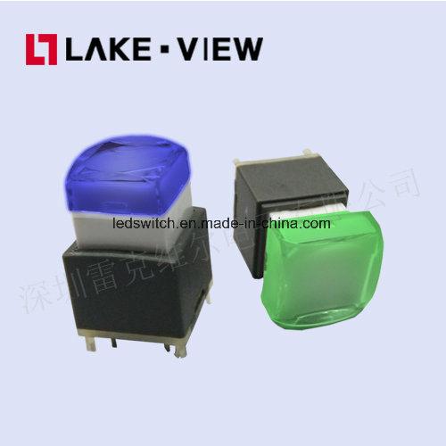 Printing Custom Audio Video Processor LED RGB Colors Options Push Button Switch