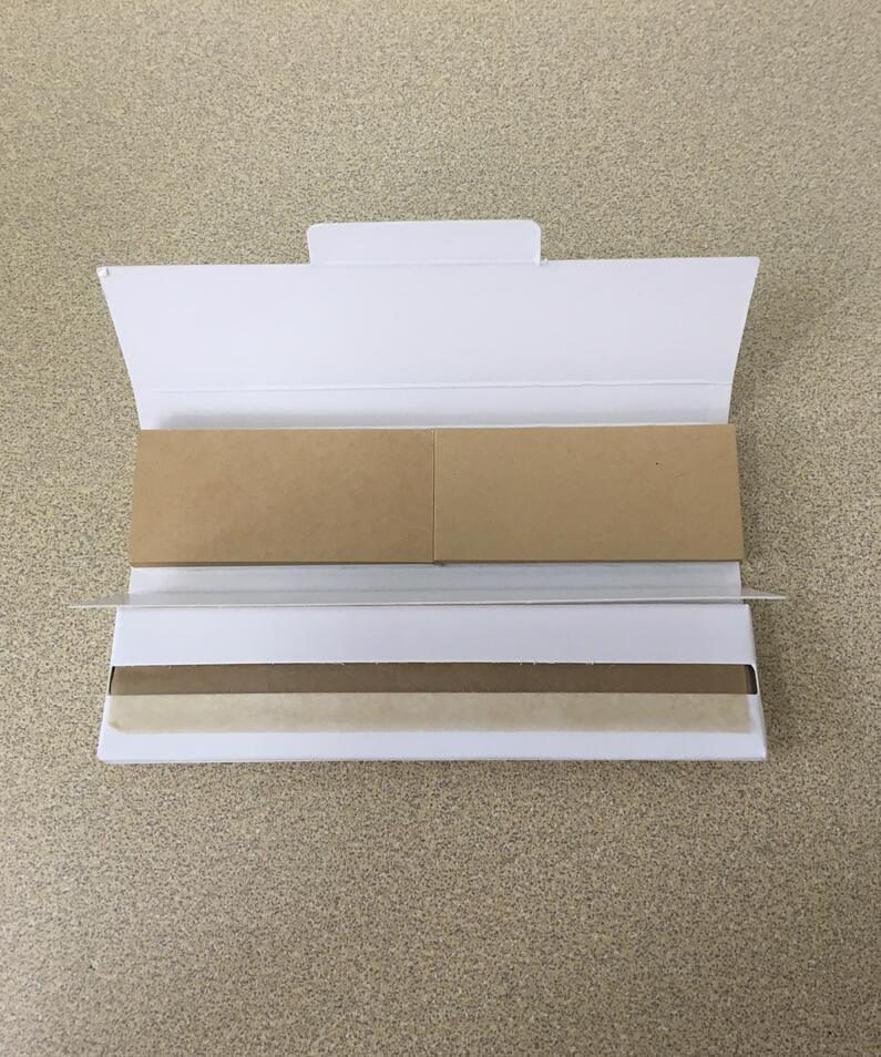 OEM Unbleached/White Filter Tips Smoking Cigarette Rolling Paper