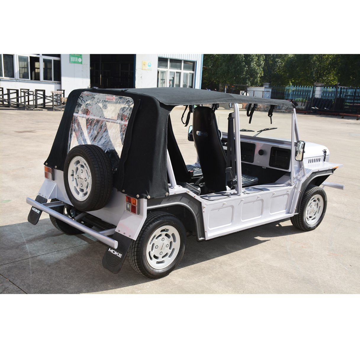 Gasoline Engine Tourist Coach Sightseeing Car, Moke Car