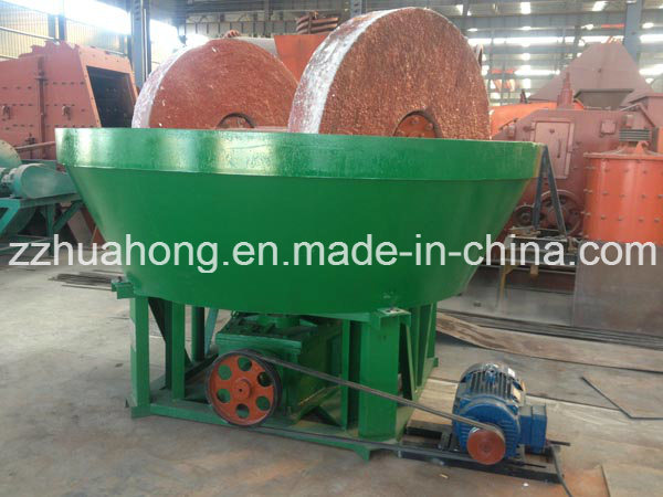Wet Pan Mill, Gold Grinding Machine, Grinding Mill Equipment