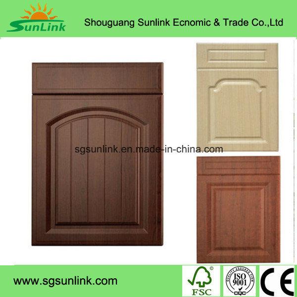 American Style Modern PVC Kitchen Cabinet Door (Customized)