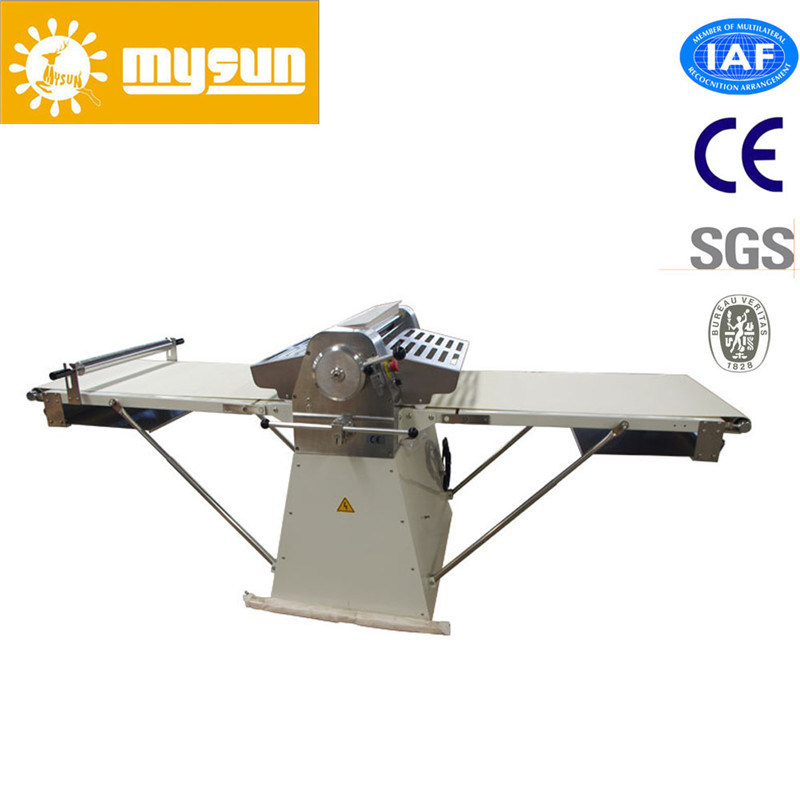 Mysun Stainless Steel Croissant Processing Dough Sheeter Manchine