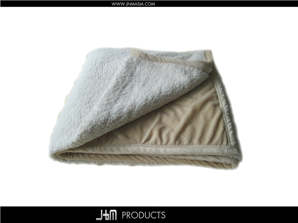 Velboa Bonding Sherpa Blanket (25015)