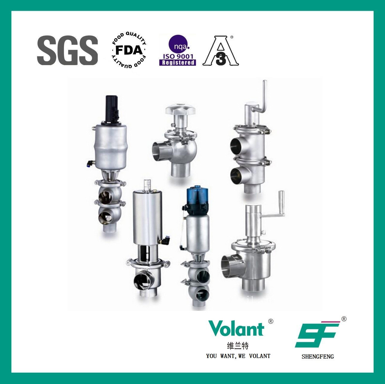 Stainless Steel Pneumatic Reversing Valve-Type Sf3000003