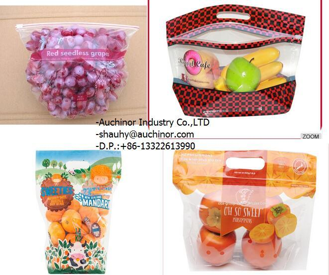 New Punching Grape Protection Packaging Bag with Customized Printing