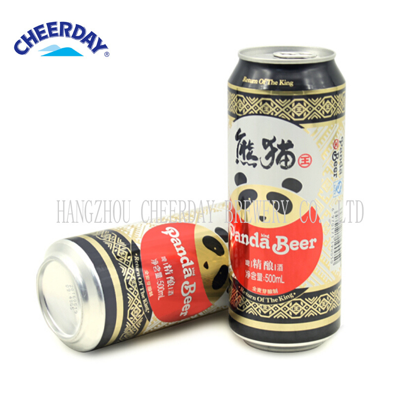 2017 Best-Selling Abv3.3% 500ml Panda King Brand Canned Craft Beer