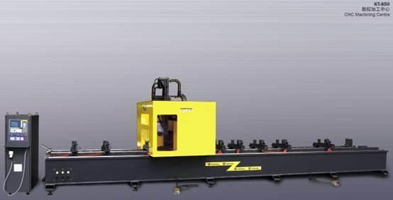 Kt-850 Aluminum Curtain Wall CNC Machine/ CNC Router