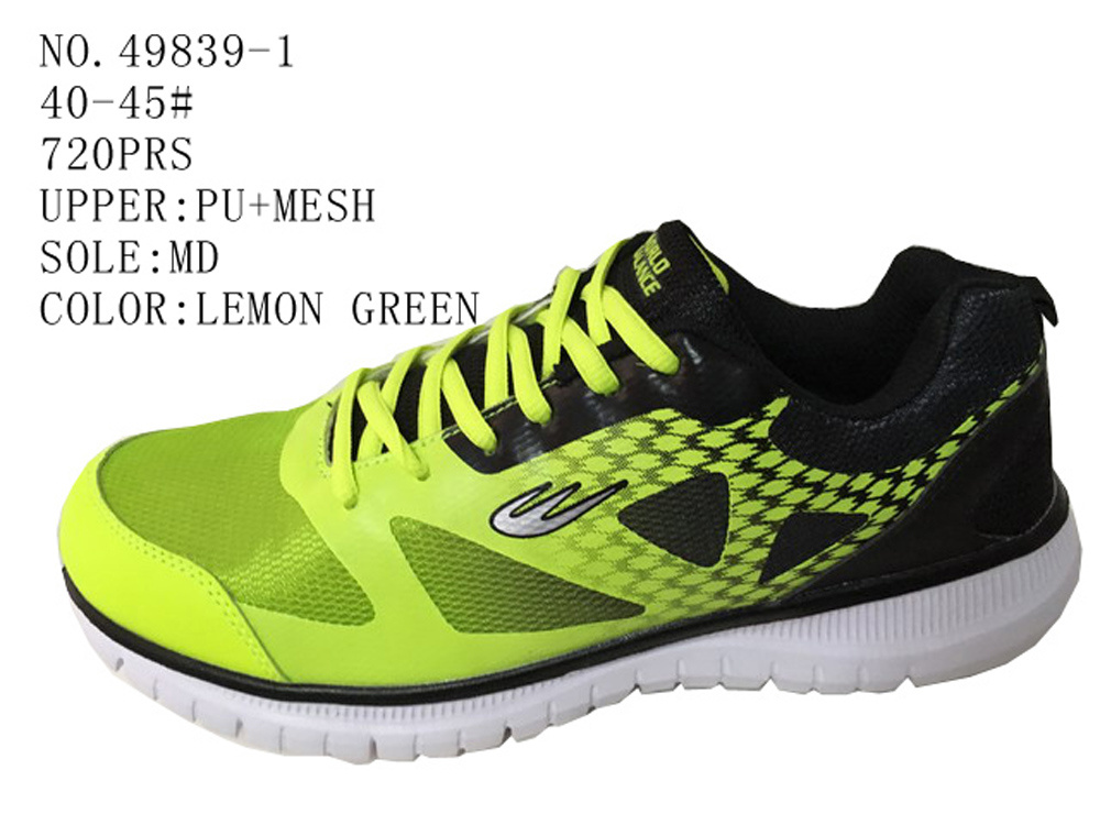 No. 49839 Two Colors Men Sport Stock Shoes
