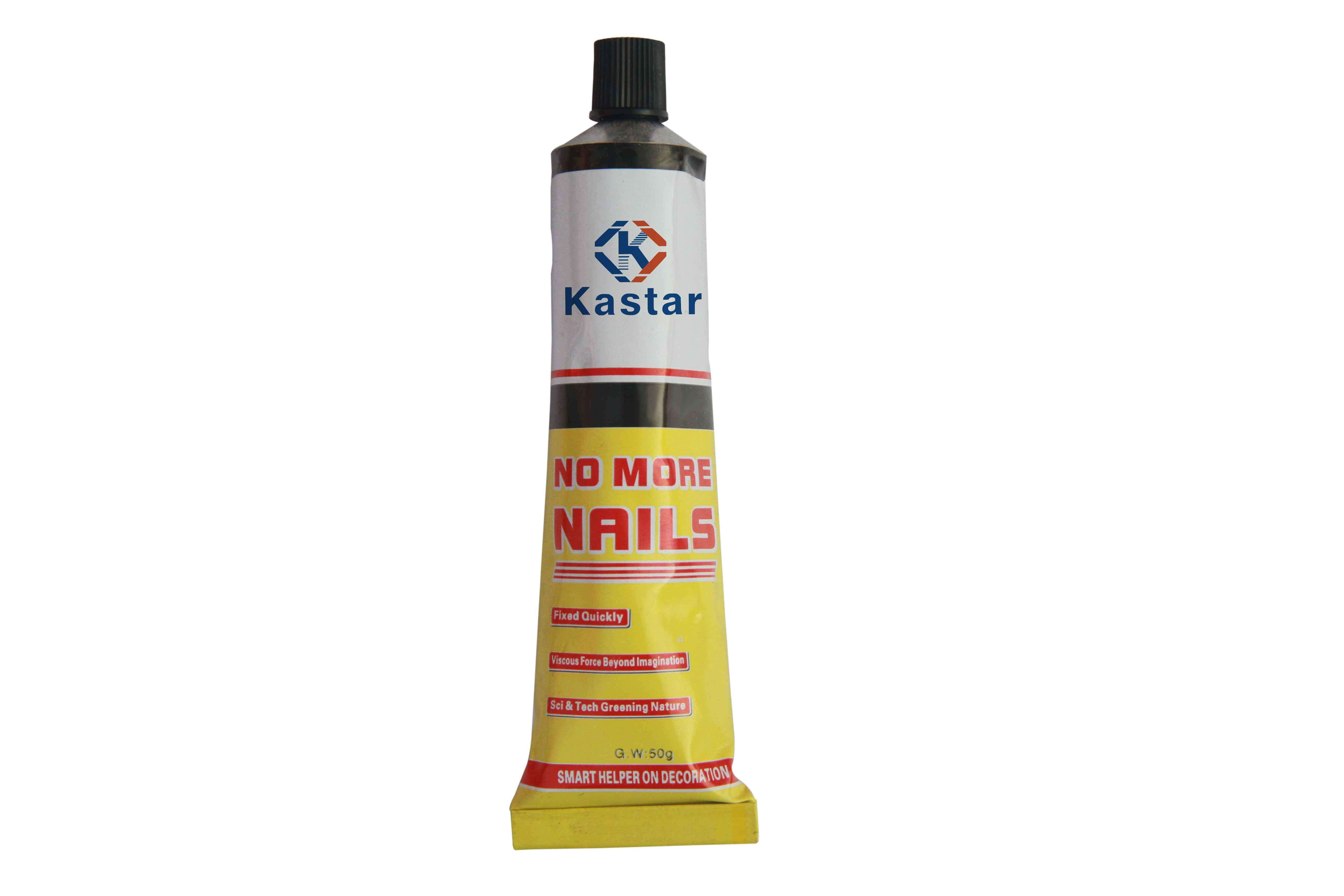White Color Fixed Quickly Nail Free Glue for Board