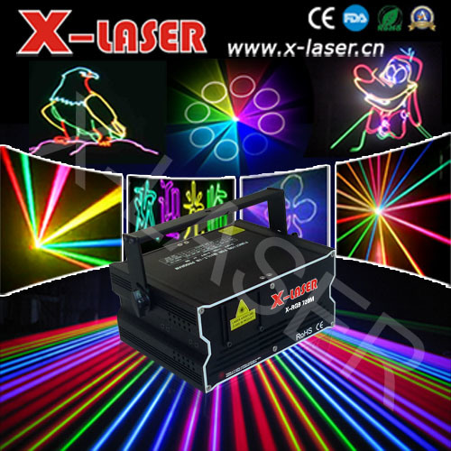 New Mini 2.5W RGB Full Color Animation Laser Light DJ Disco Ceremony Stage Light Show