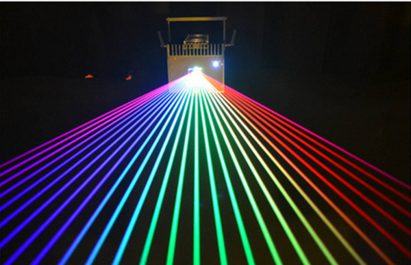 4000MW RGB Multicolor Laser Light Fluent Animation Writing Laser Projector