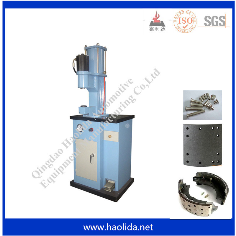 Pneumatic Hydraulic Brake Lining Rivet Machine