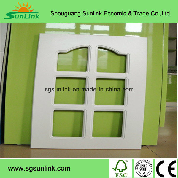 American Style Modern PVC Kitchen Cabinet Door (Customized)
