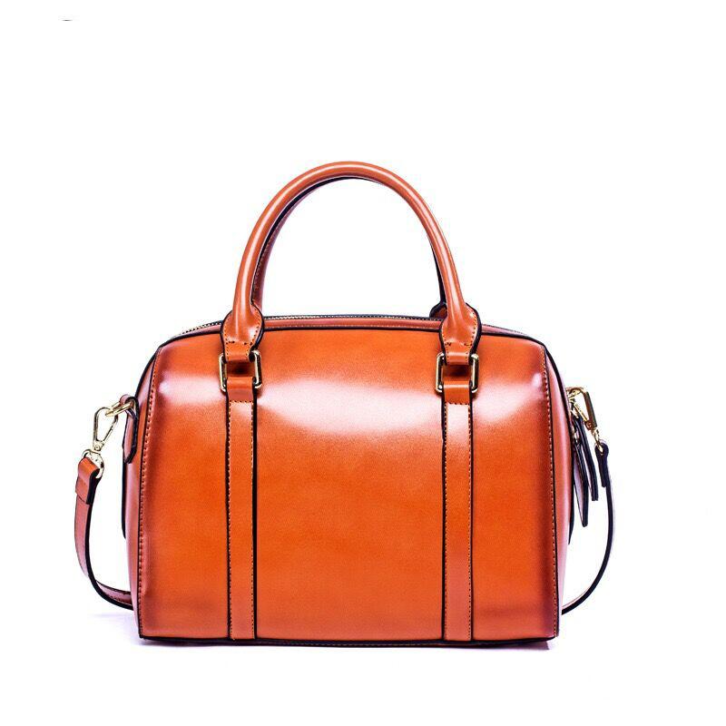 Europe Style Brand Name Ladies Vintage Women Boston PU Sling Messenger Hand Bags