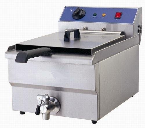 220V 5kw Electric Fryer with Cabinet (161V/c)
