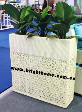 Garden Planter / Outdoor Rattan Furniture / Flower Pot