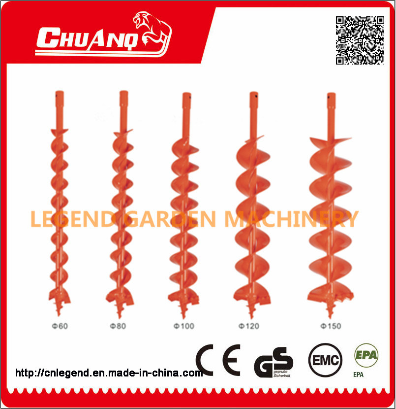 Gas Ground Drill Ice Drill Bit Earth Auger Drill