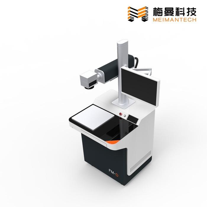 Desktop Fiber Laser Marking Machine with Multifunctional Touching Operating System (FM-D 30W)