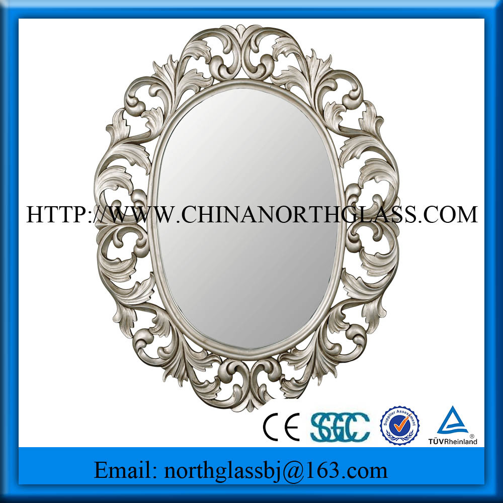 Hot Sale 1.8-6mm Silver / Aluminum Mirror Glass