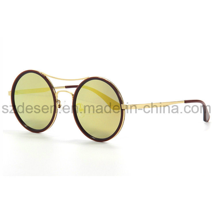 High Quality Round Frame Antique Sunglasses with Factory Price