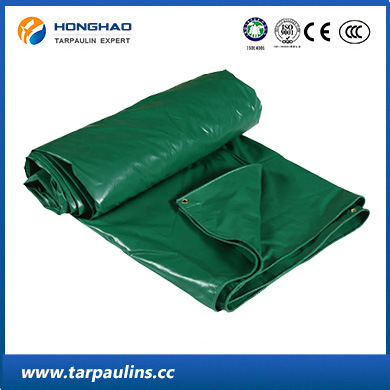 Heavy Duty Coated PVC Waterproof Tarpaulin/Tarp for Cover