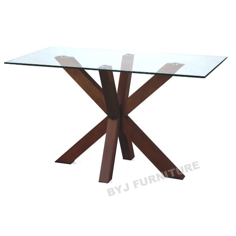 Rectangle glass dining tables for Rectangular glass dining table