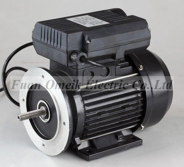 China 100 output start capacitor air compressor motor for Air compressor motor starter