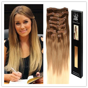 China remy hair clip in ombre color virgin human hair extension remy hair clip in ombre color virgin human hair extension pmusecretfo Choice Image
