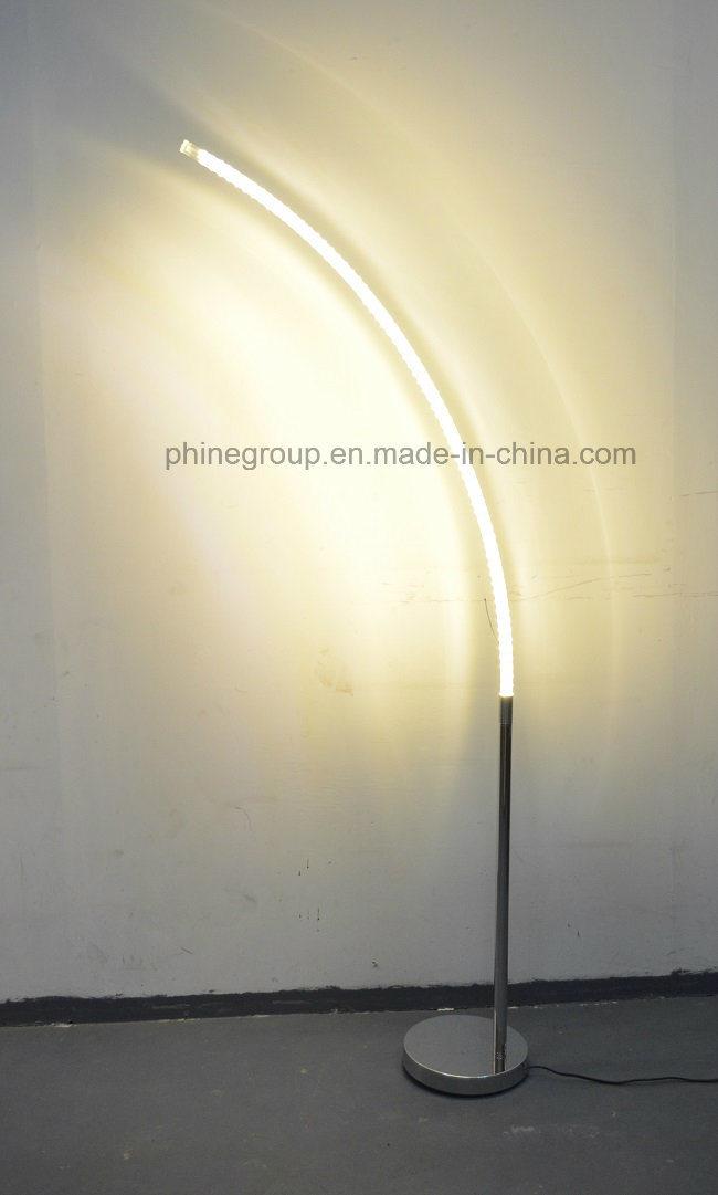 Phine Group LED Floor Lamp / Floor Lighting Metal Body with Glass Tube