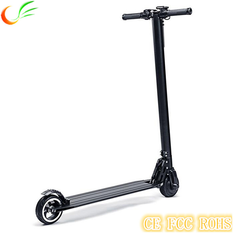 2017 Foldable 5.5inch 250W Electric Scooter with Lithium Battery, Light E-Scooter