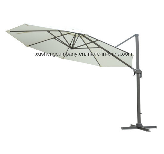 Fancy Rotating Patio Umbrella Parasol with Base