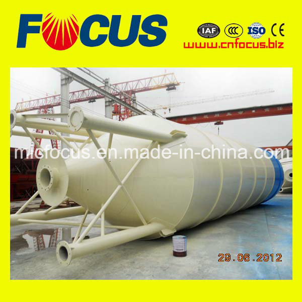 Q235 Steel 50 Ton Welded Complete Type Cement Silo for Powder Storage