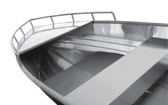 All Welded Aluminium Boat (AV-14)