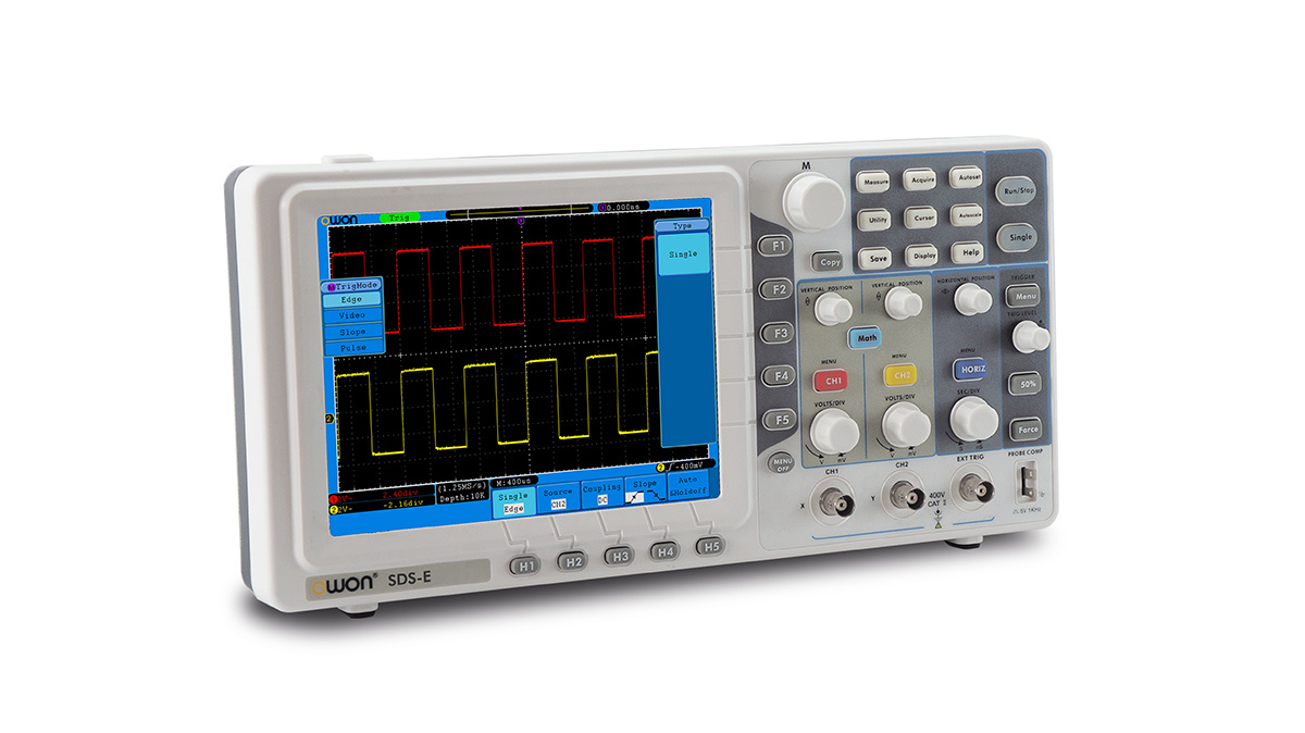 OWON 125MHz 1GS/s Economical Digital Oscilloscope (SDS7122E)